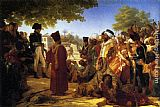 Pierre-Narcisse Guerin Napoleon Pardoning the Rebels at Cairo painting